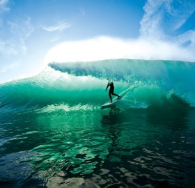 crystal water surfing