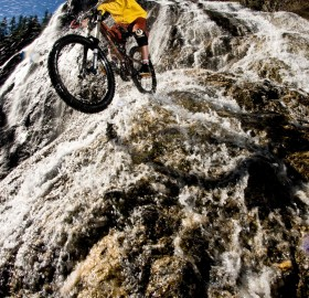free riding the falls