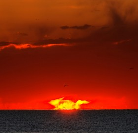 sunrise over argentina