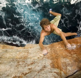 chris sharma, breathtaking rock climbing
