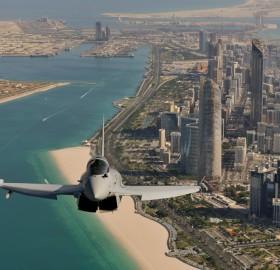 eurofighter over dubai
