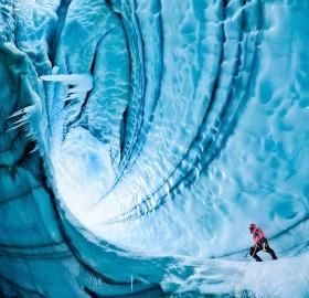 langjokull glacier, iceland