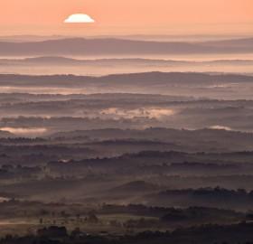 shenadoah national park sunrise