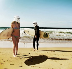 surfing troopers