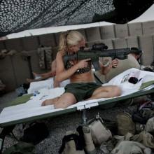 Swedish Army Girl