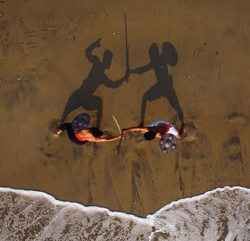 martial arts practice in india