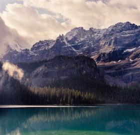 stunning lake o'hara, yoho national park, canada