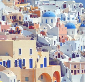 wonderful colors of greece