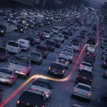 beat the traffic jam – vespa