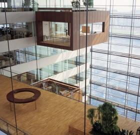 meeting room inside the bank, denmark
