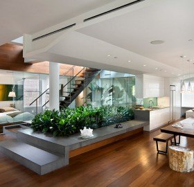 open and modern apartment