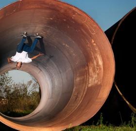 skateboard padless loop
