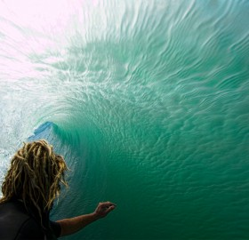 inside the wave