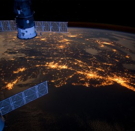 eastern coast of united states from space
