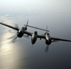 p-38 lightning over virginia