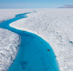 blue river of greenland