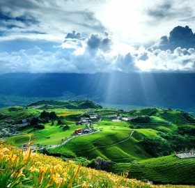 beautiful taiwan landscape