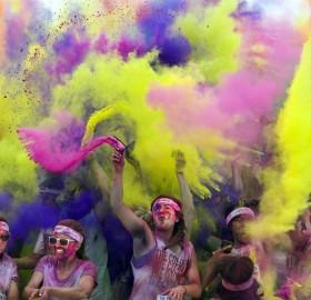 color run, california
