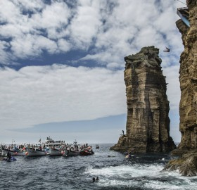 cliff diving, portugal