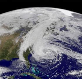 sandy, largest hurricane in atlantic history