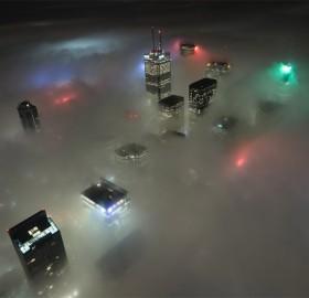 toronto under fog