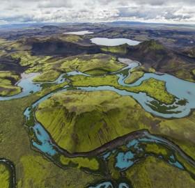 langisjor, highlands of iceland