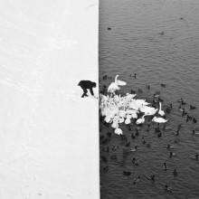 winter in krakow, poland