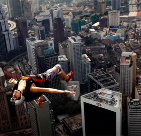 free jump from KL tower, kuala lumpur
