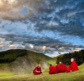 living in tibet