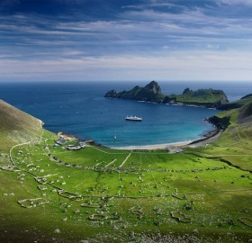 beautiful st. kilda, scotland