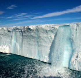 amazing glacial waterfalls