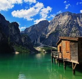 lake house, tyrol, italy