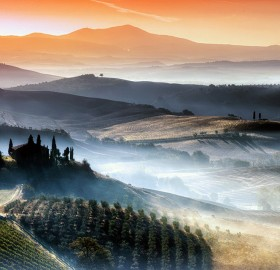 beautiful tuscany landscapes