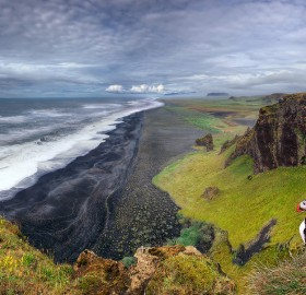 iceland, land of the puffins