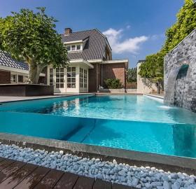 incredible backyard pool design
