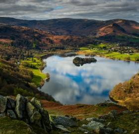 grasmere lake, england