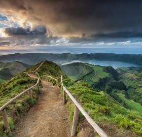 road to paradise, são miguel island, portugal