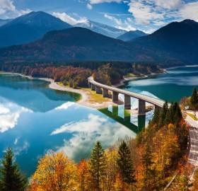 lake sylvenstein, germany