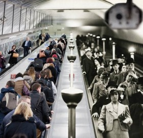 london underground, then and now