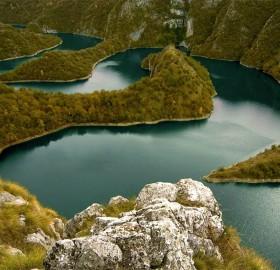 uvac river canyon, serbia