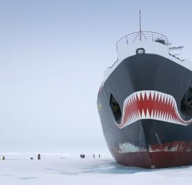 "russian nuclear icebreaker ""yamal"", antarctica"