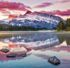 two jake lake, canada
