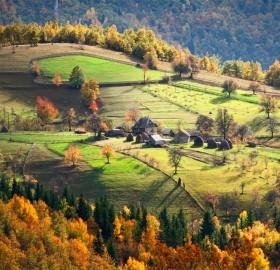 village household, serbia