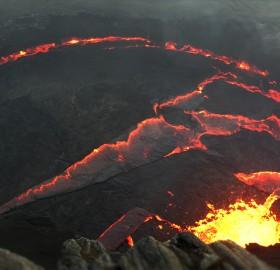 erta ale, the most active volcano in ethiopia