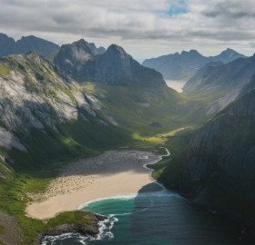 a view on lofoten, norway