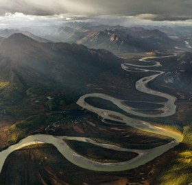 alatna river valley, alaska