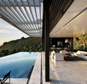 great view on house in clifton, south africa