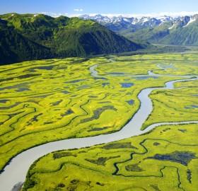 copper river or ahtna river, alaska