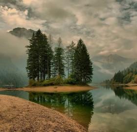 predil lake, austria