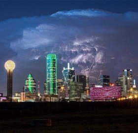 storm over dallas